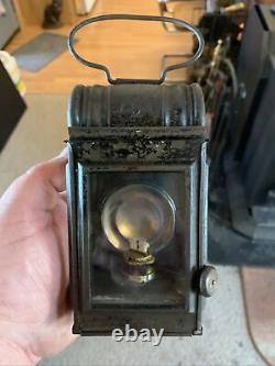 Very Rare Antique Bat Hand Lantern All Original And Extremely Hard To Find Mint