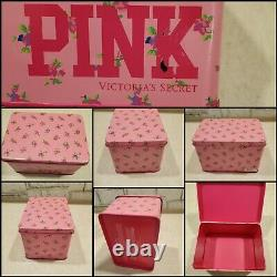 Victoria's Secret Pink Collectible Tins Lot RARE & HARD TO FIND