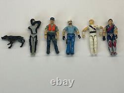 Vintage GI JOE Hasbro Damaged Figures 1982 1985 Rare V1 Hard To Find Lot Of 6