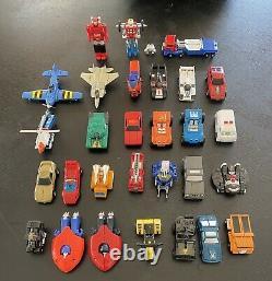 Vintage GOBOTS Lot Excellent Condition! Complete Hard To Find Figures