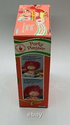 Vintage Strawberry Shortcake Party Pleaser Peach Blush Mint In Box Hard To Find