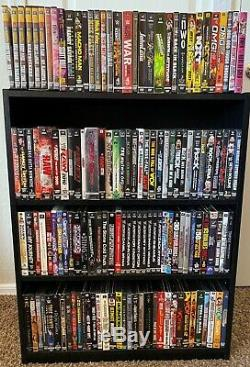 WWE WWF WCW ECW DVD Lot 350 Titles RARE Collectors Editions Hard to find OOP
