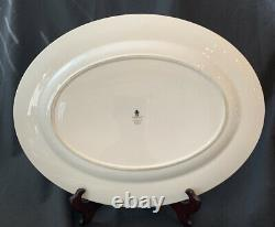 Wedgwood Kutani Crane 17 Oval Platter MINT Condition Hard to find