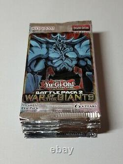 Yugioh! Battle pack 2 War of Giants Sealed Booster Pack Lot X36. Hard to find